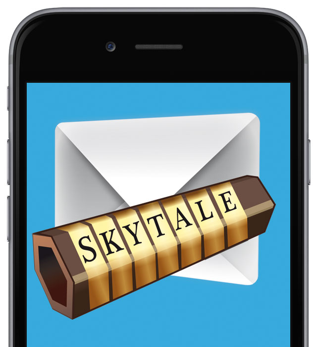 mobile device with skytale SW