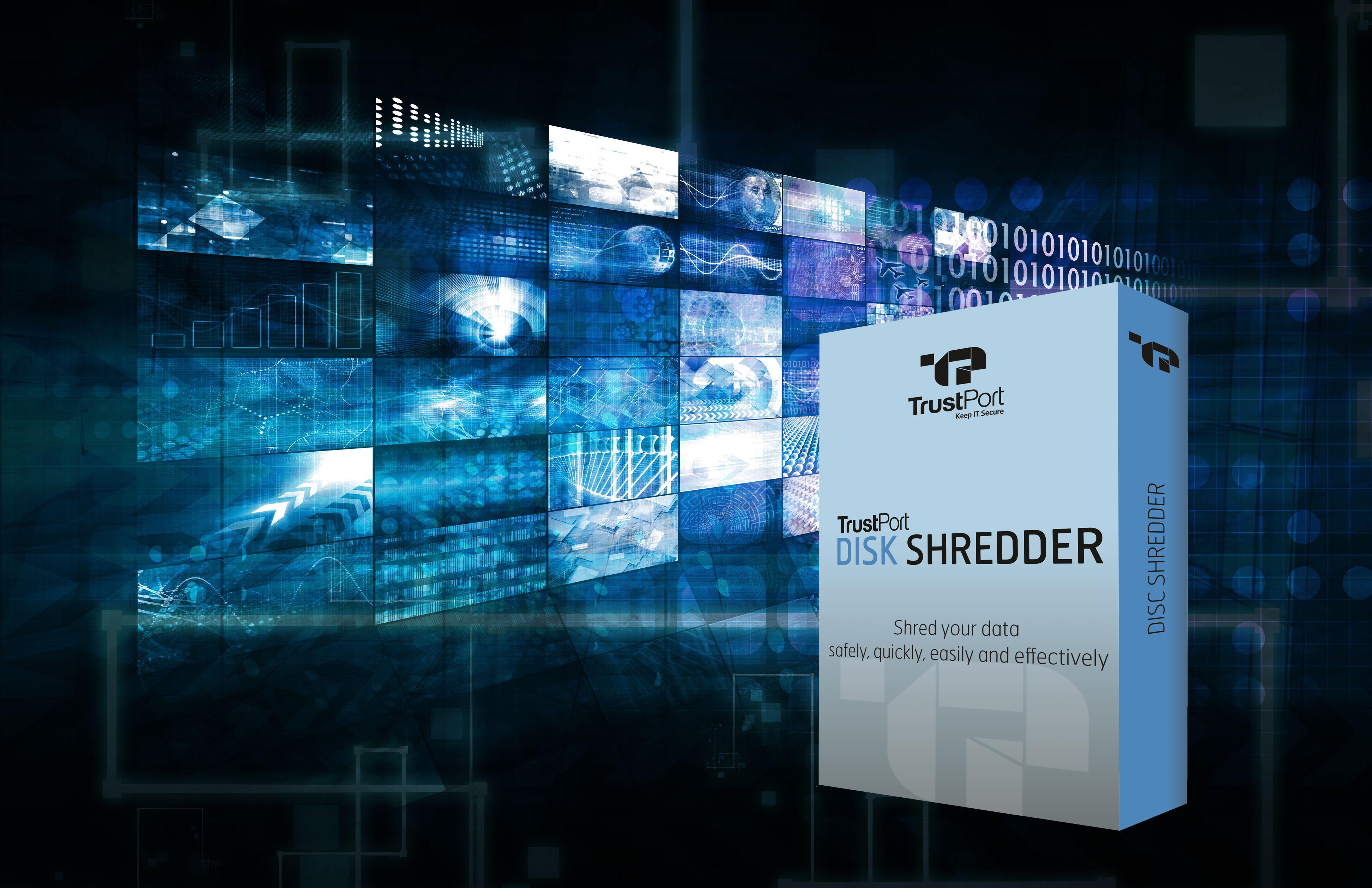 disk shredder data erasure