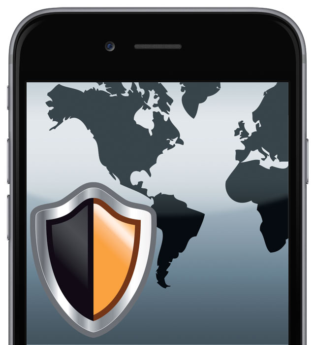 mobile device with trustee security SW